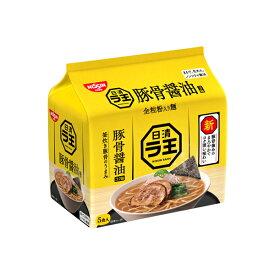 日清ラ王 豚骨醤油 5食パック 500g×18個入り (3ケース) (MS)