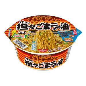 日清チキンラーメンの汁なしピリ辛担々ごまラー油 100g×12個入り (1ケース) (MS)