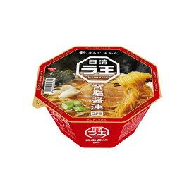 日清ラ王 背脂醤油 112g×12個入り (1ケース) (MS)