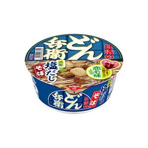 日清のどん兵衛 恋七味付き淡麗塩だしそば 95g×12個入り (1ケース) (MS)