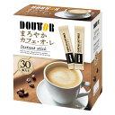 ドトールコーヒー まろやかカフェ・オ・レ インスタントスティック 30本入り×6箱(1ケース)(KK)