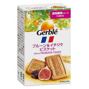 Gerble(ジェルブレ) ファイバープルーン&イチジクビスケット ポケットサイズ 54g 18個入り×1ケース