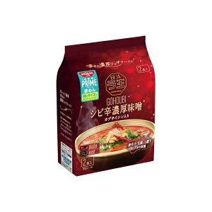 日清ご褒美ラ王 シビ辛濃厚味噌 2食パック 242g×9個入り (1ケース) (MS)