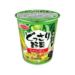 エースコック どっさり野菜 ちゃんぽん 61g×12個入り (1ケース) (KT)
