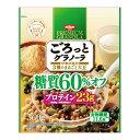 日清シスコ ごろっとグラノーラ3種のまるごと大豆糖質60%オフ 360g×6個入り (1ケース) (KT)
