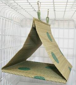 ピーツー・アンド・アソシエイツ Bird Tent い草テント L グリーン [ハッピーホリデイ]