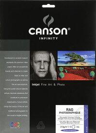 ファインアート用紙 インクジェット用紙 高解像度対応 プリントメイキング・ラグ A3ノビ(25) 6111008 キャンソン インフィニティ CANSON Infinity