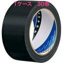 寺岡製作所 養生テープ P-カットテープ No.4140 塗装養生用 黒 幅50mm×長さ50m巻 30巻