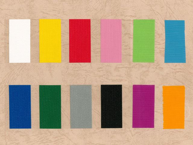 包装用カラー布粘着テープNo.384 50mm巾×25m巻12色各1巻