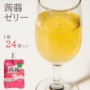 【国内製造】ゼリー飲料毎日ゼリー 蒟蒻ピーチ味150g×24袋入こんにゃく ピーチ 低カロリー 果汁 食物繊維