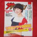 ザ・テレビジョン 2015年No.3 日本生命販促冊子●波瑠【中古】