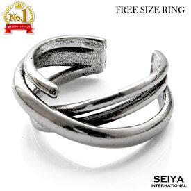 指輪 メンズ リング シルバーリング フリーサイズ 3連リング メンズリング リングメンズ レディース ユニセックス オープンリング ゆびわ フリー FREE SIZE シンプル アクセサリー かっこいい かわいい おしゃれ 人気 ブランド プレゼント