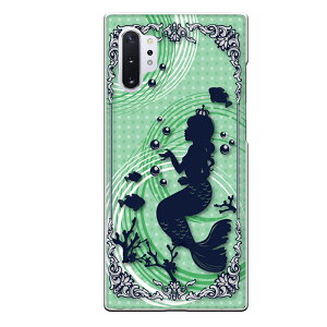 Galaxy Note10+専用スマホケース 海 珊瑚 魚 かわいい