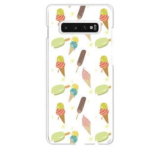 Galaxy S10専用 アイスクリーム キャンディー ソフトクリーム コーン カラフル キラキラ