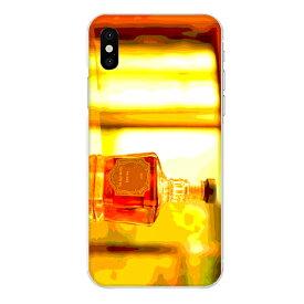 iPhone XR専用 ウイスキーボトル ウヰスキー whisky お酒 飲み物 ドリンク リアル おしゃれ 油彩 アルコール 橙色 お洒落なBAR