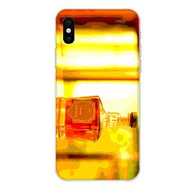 iPhone XS専用 ウイスキーボトル ウヰスキー whisky お酒 飲み物 ドリンク リアル おしゃれ 油彩 アルコール 橙色 お洒落なBAR