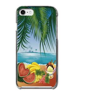 常夏 summer スイカ バナナ ぶどう パフェ 海 島 アミューズ 南国 真夏日 フルーツ 多機種対応スマホケース