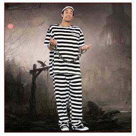 ハロウィン 仮装 衣装 コスプレ 大人用 囚人服 個性的 メンズ