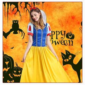 コスプレ 白雪姫 ハロウィン 仮装 衣装 コスプレ 大人用 パーティー レディース ワンピース 童話