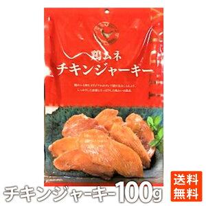 鶏ムネチキンジャーキー 100g メール便 送料無料
