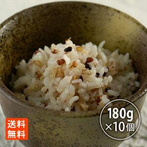 たかの 十七穀ごはん180g×10 レトルトごはん レトルト食品 米 雑穀米 送料無料