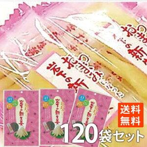 ポイント消化 生姜 岩下の 新生姜 47g×120袋 送料無料 お徳用 おつまみ おやつ 大容量