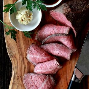 【お得な2個セット】無添加 特選もも肉熟成牛 ローストビーフ 約900g(約450gx2) 高級 ギフト ローストビーフ 熟成肉 お取り寄せ おつまみ 無添加食品 送料無料
