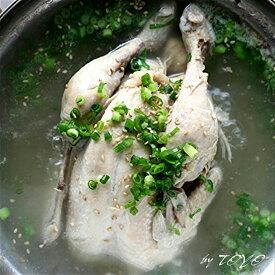 参鶏湯(サムゲタン) 丸ごと一羽使用 約1.2kg おつまみ 高級 ギフト お取り寄せ 無添加食品