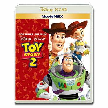 【送料無料】 トイ・ストーリー2 MovieNEX [ブルーレイ 1枚、DVD 1枚、デジタルコピー(クラウド対応)、MovieNEXワールドのセット]