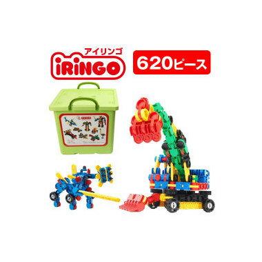 【送料無料】 ポイント12倍 感覚ブロック アイリンゴ [iRiNGO] 620 ピース