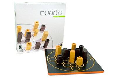 【送料無料】 あす楽対応 ポイント6倍 Gigamic<ギガミック社> クアルト!-QUARTO!-(木製ボードゲーム)