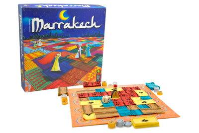 【送料無料】 あす楽対応 ポイント5倍 Gigamic<ギガミック社> マラケシュ-Marrakech-(フランス版・木製ボードゲーム)