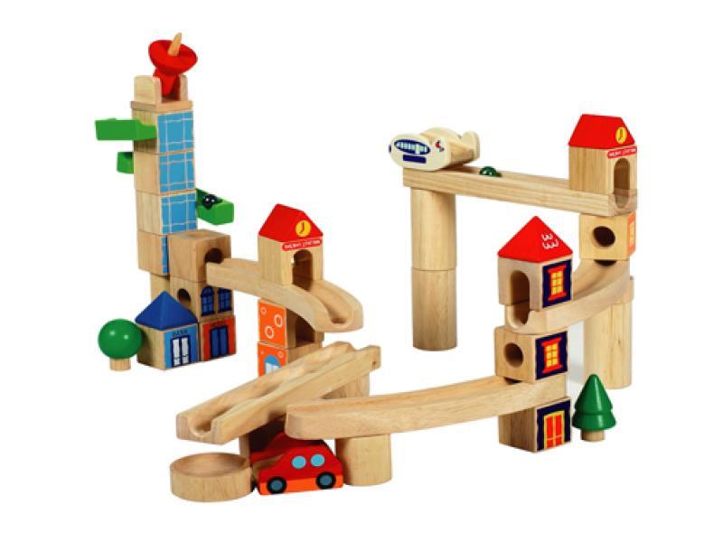【送料無料】 あす楽対応 木製玩具 シティブロック