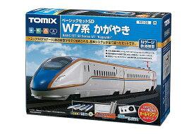 【送料無料】 鉄道模型 TOMIX(トミックス) Nゲージ ベーシックセットSD W7系かがやき