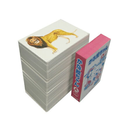 【送料無料】 七田式(しちだ)教材 かな絵ちゃんカードA(日本語版)