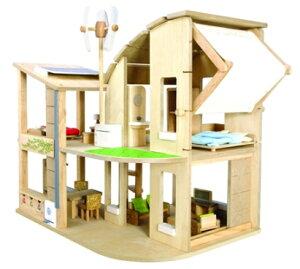 【送料無料】 PLANTOYS(プラントイ) 家具付きグリーンドールハウス