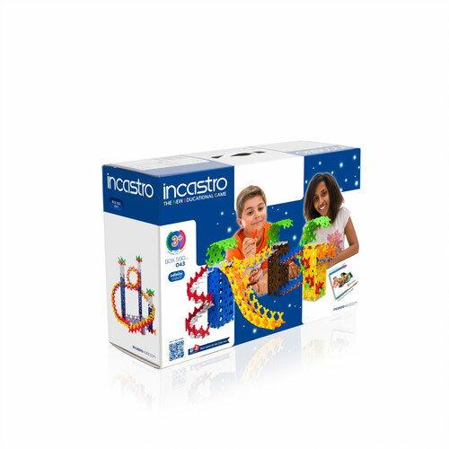 【送料無料】 イタリア生まれの知育ブロック 「 Incastro ( インカストロ ) 」 BOX500 500ピース入り
