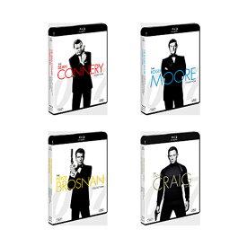 【送料無料】 007/ ショーン・コネリー / ロジャー・ムーア / ピアース・ブロスナン / ダニエル・クレイグ ブルーレイコレクション<21枚組>