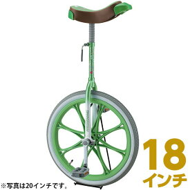 【即日出荷】ブリヂストン 一輪車 18インチ スケアクロウ SCW18 グリーン