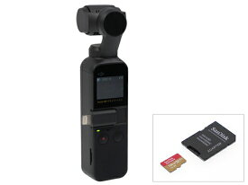 DJI OSMO POCKET + micro SDカード[128GB]