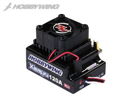 HOBBYWING XERUN-120A V2.1 BEC内蔵 3A/5.75V【1/10用】【ホビーウィング日本総代理店】