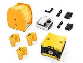 CCROV 水中ドローン標準パッケージ・75mケーブル付き + 予備バッテリーセット