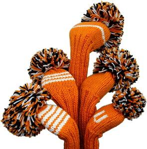 【ジャンクレイグヘッドカバー JAN CRAIG HEADCOVER】オレンジ/ホワイト/ブラック Orange/White/Black(ドライバー)