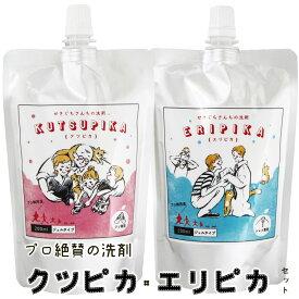 【クーポンSALE開催中!】《送料無料》クツピカ・エリピカ 2個セット プロ絶賛の上履き用洗剤 エリそで洗剤【メール便限定】