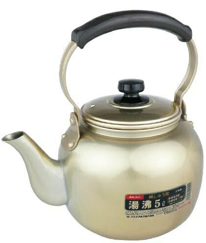 【即納】 アカオ しゅう酸湯沸し 4L 日本製 【やかん】 アカオアルミ AKAO 《ヤカン 湯沸 ケトル ケットル ポット 4リットル》