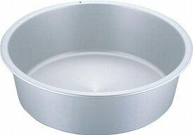 アカオ アルミタライ 42cm【アルマイト・シルバー・硬質アルミ・たらい・洗い桶・洗桶】 アカオアルミ
