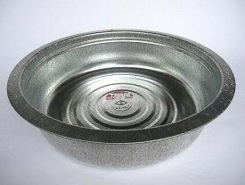 昔ながらのタライ トタン製 48cm  【即納】【たらい トタンタライ 金たらい カナダライ 洗い桶 洗桶】