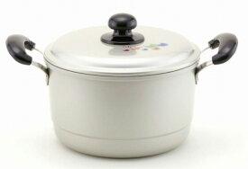 ホクア エシャロット 兼用鍋 24cm 【北陸アルミ echalote 蒸器 両手鍋 深型鍋】