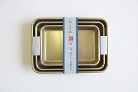アルミバット 3点セット (ゴールド) 6・7・8号 小伝具 ホクア 《 北陸アルミ しゅう酸 アルミバット 日本製 HOKUA 》