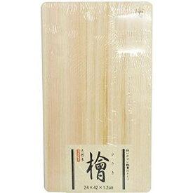 薄まな板 24cm (軽量タイプ) 木製 日光桧 国産桧 【星野工業 ヒノキ ひのき 木製マナ板 薄型】